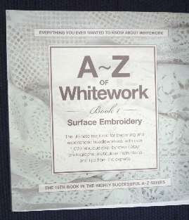 A-Z of Whitework - out of stock