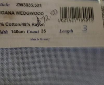 Lugana Wedgewood, 25 Ct,