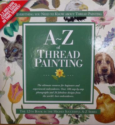 A-Z of Thread Painting - out of stock