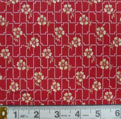 Farmhouse Reds - Floral Grid