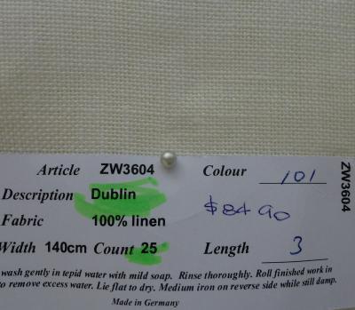 Dublin - 25ct, Antique White