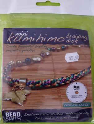 Mini Kumihimo Braiding Disc