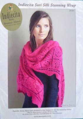 Indiecita Suri Silk Stunning Wrap