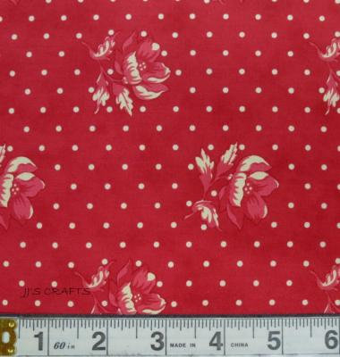 Farmhouse Reds - Floral Spot