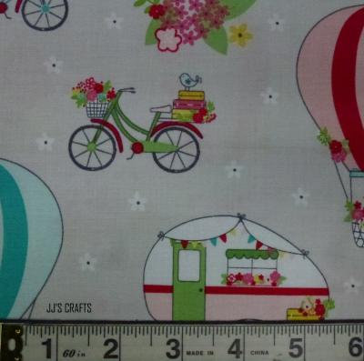 Vintage Adventure - Caravan, Bikes, Balloons