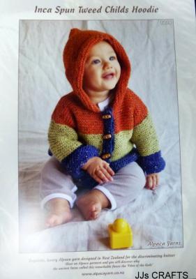 Inca Spun Tweed Child's Hoodie