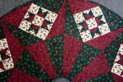 Christmas Star Tree Skirt