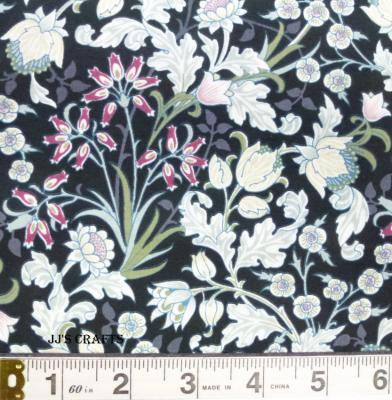 William Morris - Floral Black