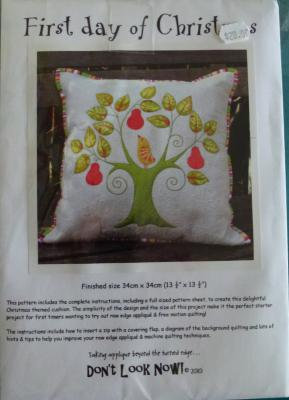 The First Day of Christmas Cushion
