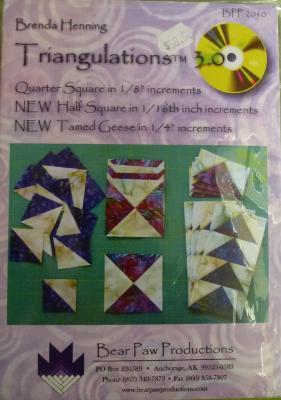 Triangulation ruler