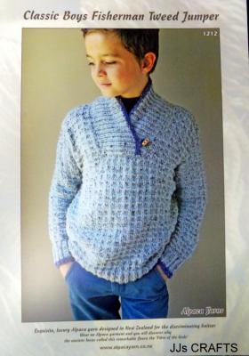 Classic Boy's Fisherman Tweed Jumper