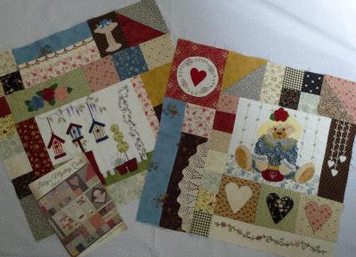 Libby's Mystery Quilt- 0nly 1 set left