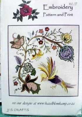Embroidery Pattern & Print JAC 4 -out of stock