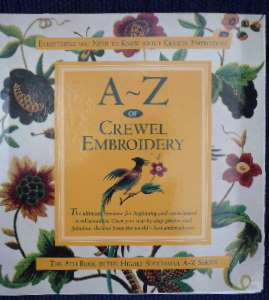 A-Z of Crewel Embroidery - out of stock