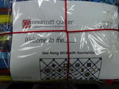 Gourmet Quilter Sew Along (Fabric only pack)