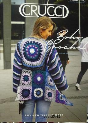 Boho Crochet Jacket