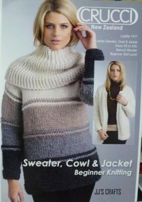Sweater, Cowl & Jacket