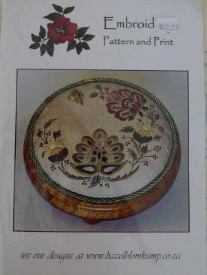 Embroidery Pattern & Print JAC 5 - out of stock