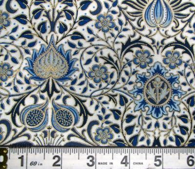 William Morris -Persian Linen-Indigo