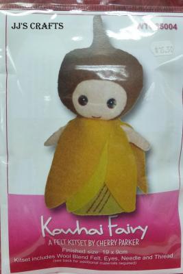 Kowhai Fairy Craft