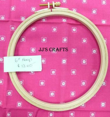 """6"""" Wooden Hoop"""