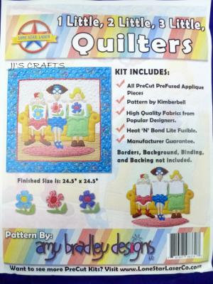 I Little 2 Little 3 Little Quilters Kit