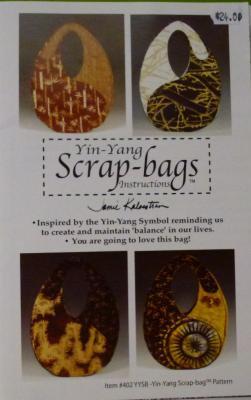 Yin-Yang Scrap Bags