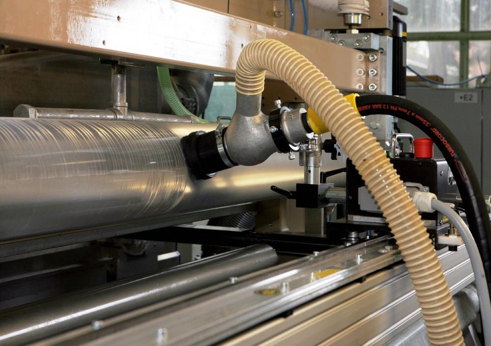 Limpieza de impresora industrial