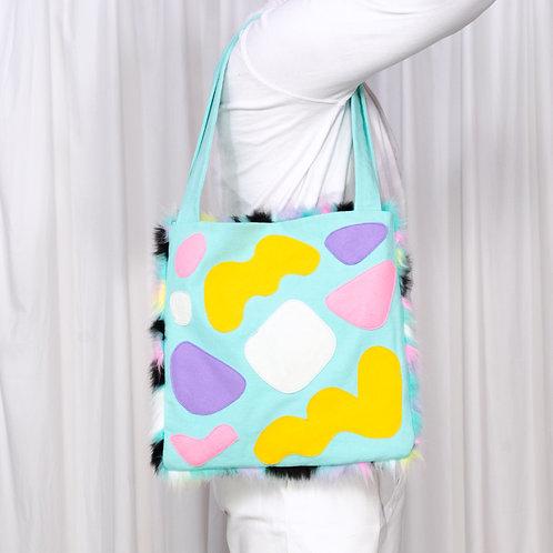 Tote Bag: Aqua
