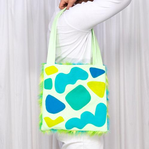 Tote Bag: Neon Green