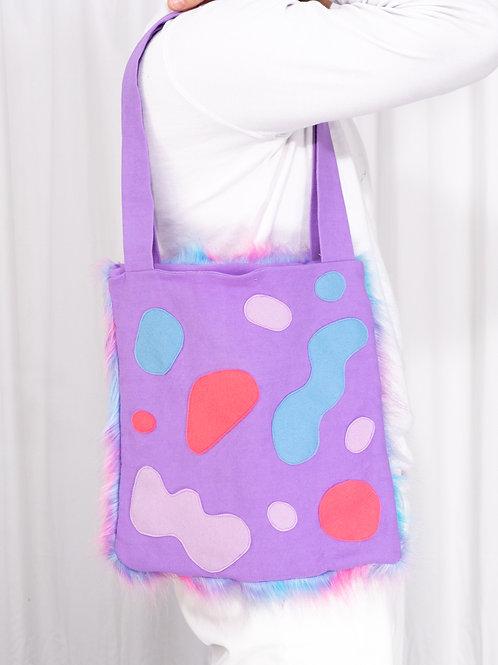 Tote Bag: Purple