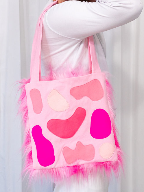 Tote Bag: Pink