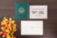 Diseño 26. Tarjetas de Matrimonio Bogota. Diseños Exclusivos. Invitaciones de Boda