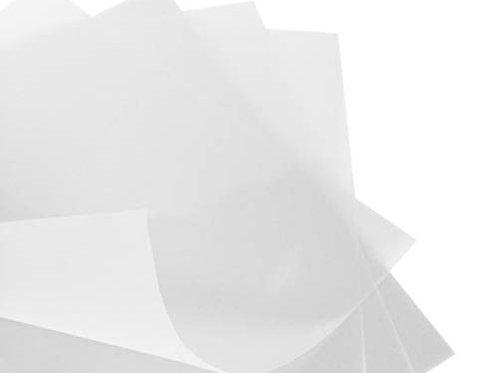 Translucent Paper (Vellum Paper) - 25 Sheets
