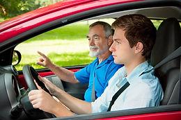 lição de condução
