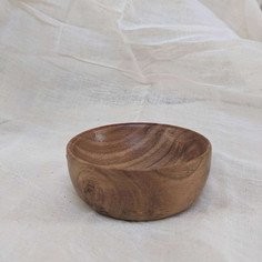 wooden ikebana bowls