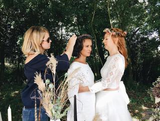 A celebration of suppliers... Bridal photoshoot sneak peak.