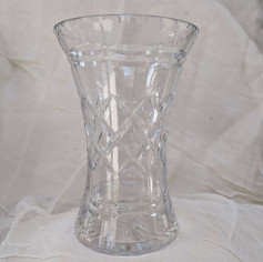 mixed trumper glass vases