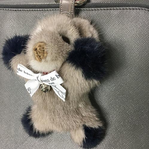 BABY BEAR - gris & bleu