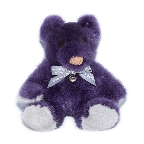 MINI TEDDY - purple