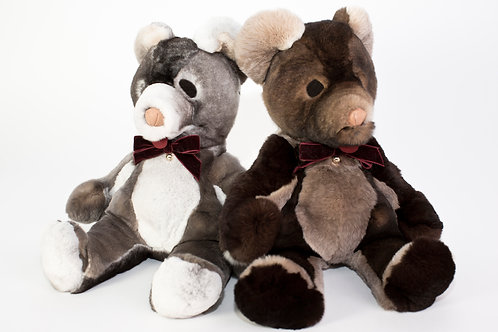 BABY TEDDY - gris ou marron - la pièce