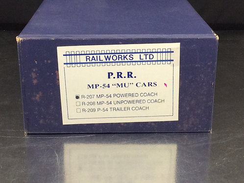 RAILWORKS PENNSYLVANIA MP54 MU CAR COACH #743 PRO PAINTED/ FACTORY BRAND NEW