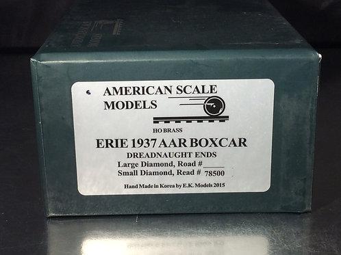ASM ERIE 1937 AAR BOXCAR SMALL DIAMOND F/P BRAND NEW