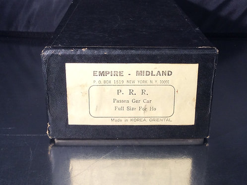 EMPIRE MIDLAND PENNSYLVANIA RR 1870 PASSENGER COACH U/P EXCELLENT
