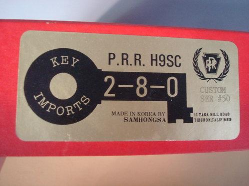 Key Imports Pennsylvania RR Class H9sc 2-8-0 F/P #9412 Excellent