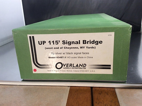 OVERLAND UNION PACIFIC 115' SIGNAL BRIDGE F/P EXCELLENT