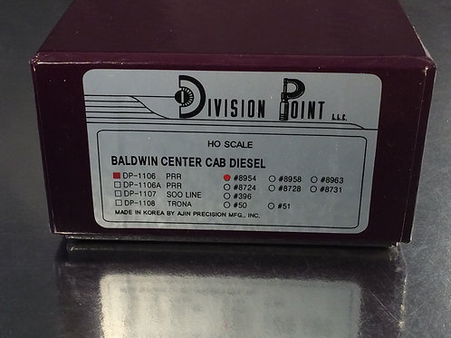 DVPT PENNSYLVANIA RR BALDWIN RT-624 #8954 CENTER CAB FACTORY PAINTED BRAND NEW