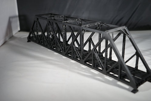 OVERLAND MODELS C&S/CB&Q 126' THRU TRUSS BRIDGE FACTORY PAINTED NEW