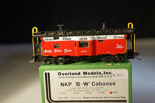 Overland Models Nickel Plate Road Bay Window Caboose F/P New