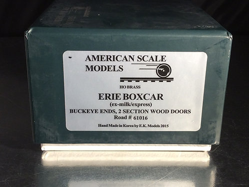 ASM ERIE BOXCAR (EX MILK/EXPRESS) FACTORY PAINTED BRAND NEW